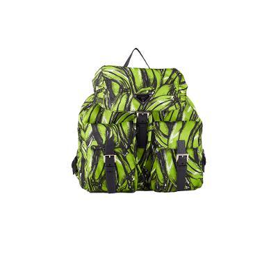 medium backpack green